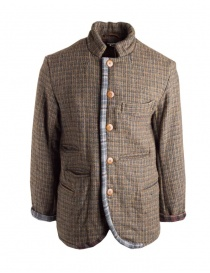 Kapital wool jacket with double weft K1612LJ320-GLD order online