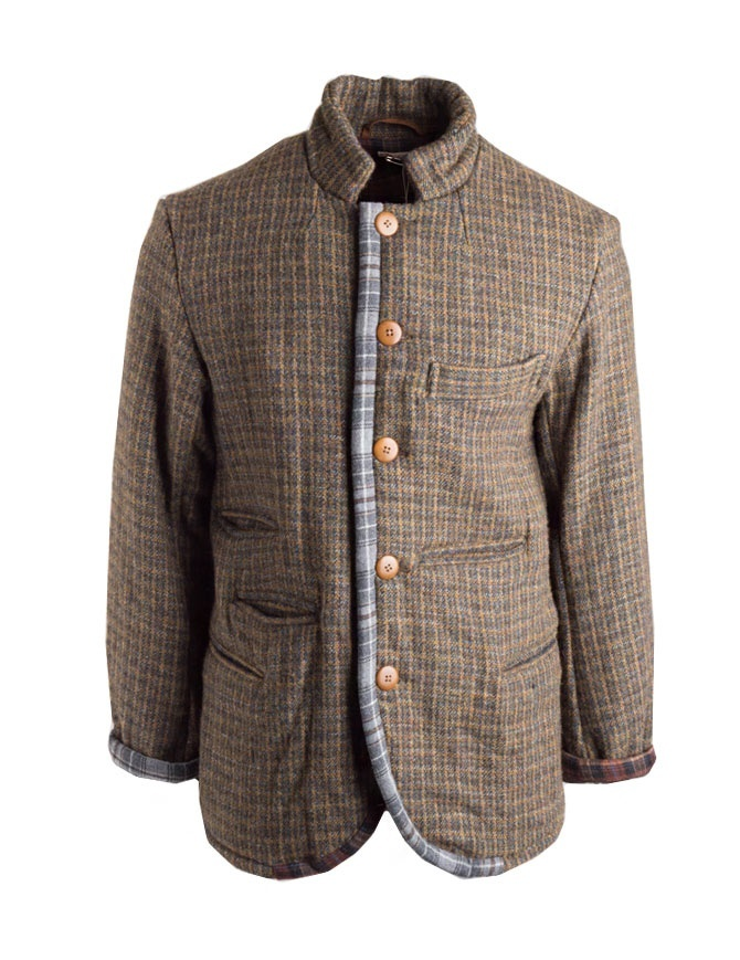 Kapital wool jacket with double weft K1612LJ320 GLD mens jackets online shopping