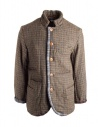 Kapital wool jacket with double weft buy online K1612LJ320 GLD