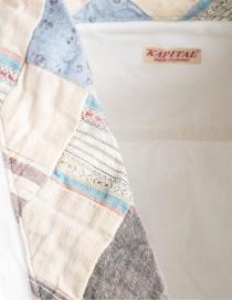 Camicia Kapital in cotone bianco prezzo