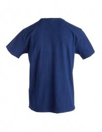 T-shirt Kapital colore indaco con Batik prezzo