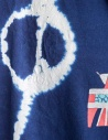 T-shirt Kapital colore indaco con Batikshop online t shirt uomo