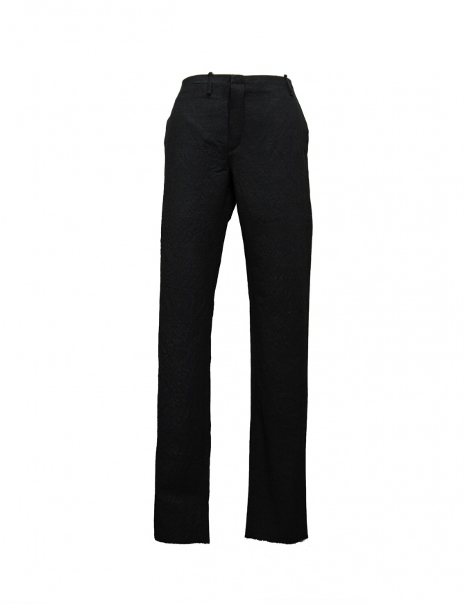 Label Under Construction Classic Crisp trousers 18FMPN30PP01 mens trousers online shopping