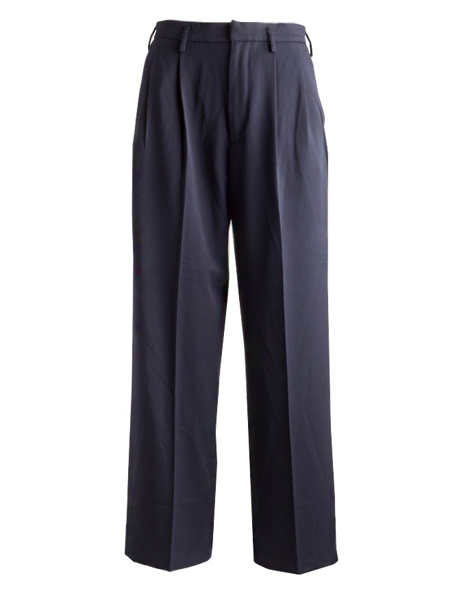 Cellar Door Liris blue trousers LIRIS-B124-COL.65 womens trousers online shopping