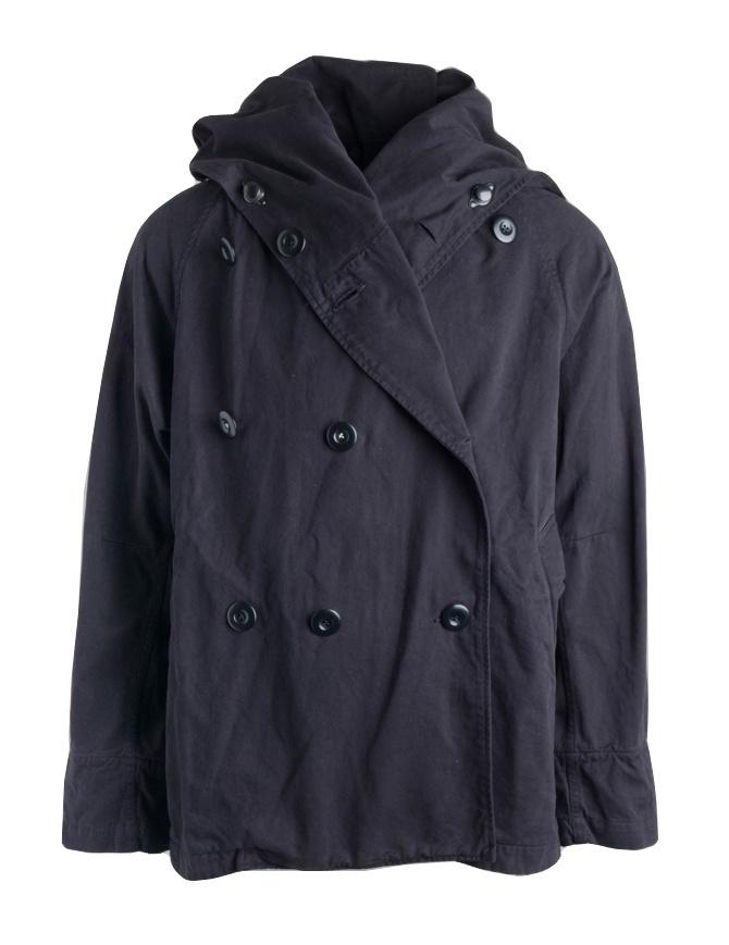Cappotto Kapital Tri-P nero EK-191-BLACK cappotti uomo online shopping