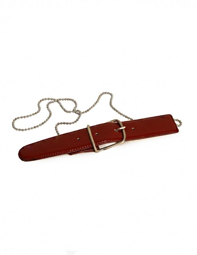 Cintura Carol Christian Poell rossa AF/0604 AF/0604 cinture online shopping