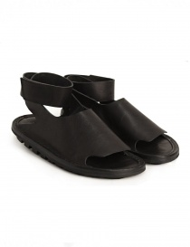 Womens shoes online: Trippen Hug black sandal