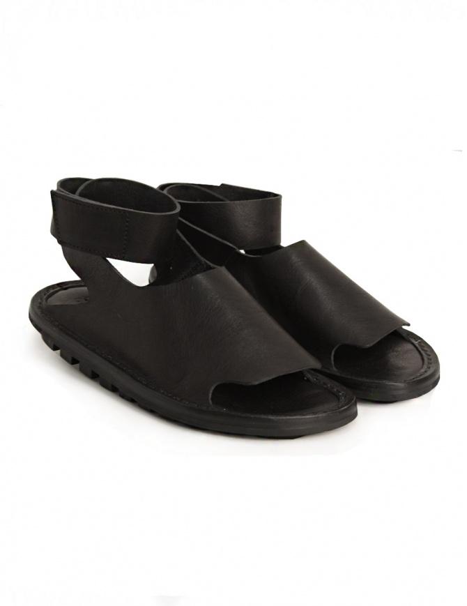 Trippen Hug black sandal HUG F WAW BLACK womens shoes online shopping