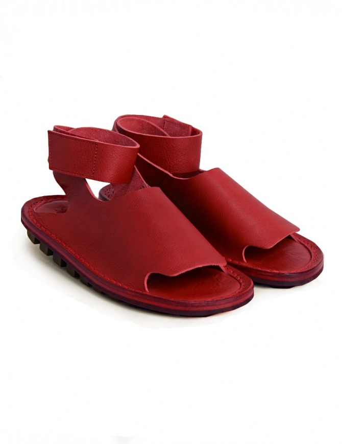 Trippen Hug red sandal HUG F WAW RED womens shoes online shopping