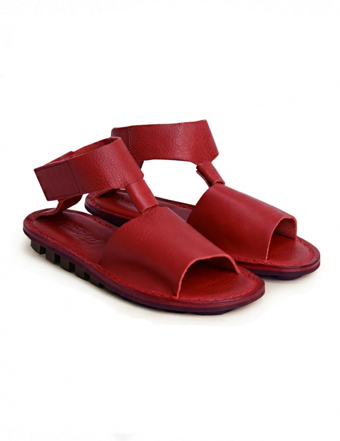 Trippen Artemis red sandal ARTEMIS-F-WAW-RED womens shoes online shopping