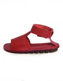 Trippen Artemis red sandal