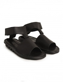 Womens shoes online: Trippen Artemis black sandal