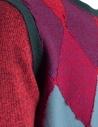 Pullover Ballantyne Lab rosso/verde in cashmere N2LB25-12KLB prezzo
