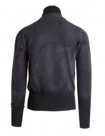 Ballantyne Lab grey cashmere turtleneck sweater