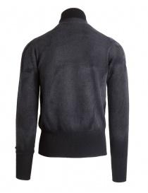 Pullover Ballantyne Lab grigio in cashmere