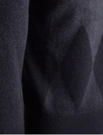 Pullover Ballantyne Lab grigio in cashmere prezzo