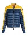 Giubbino Parajumpers Sharyl blu e giallo acquista online PW JCK SX34 SHARYL B.C. 5707