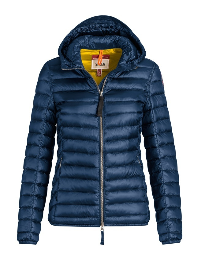 Parajumpers Rosalyn navy peony jacket with hood PWJCKSX32 ROSALYN 707 NAVY womens jackets online shopping