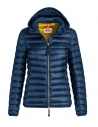 Parajumpers Rosalyn navy peony jacket with hood buy online PWJCKSX32 ROSALYN 707 NAVY