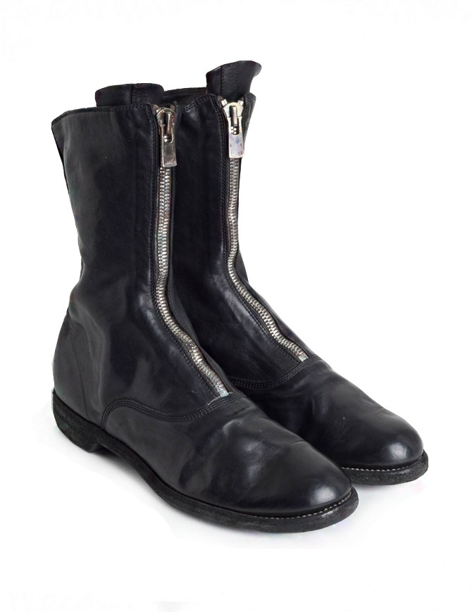 Stivaletto Guidi 310 in pelle di cavallo nera 310 SOFT HORSE ARMY BOOTS BLKT calzature uomo online shopping