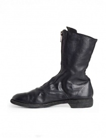 Guidi 310 black horse leather ankle boots