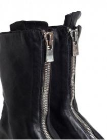 Stivaletto Guidi 310 in pelle di cavallo nera calzature uomo prezzo