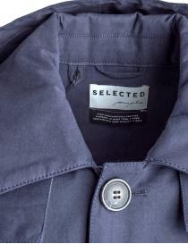 Giacca Selected People blu con cappuccio prezzo