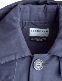 Selected People blue jacket with hood price