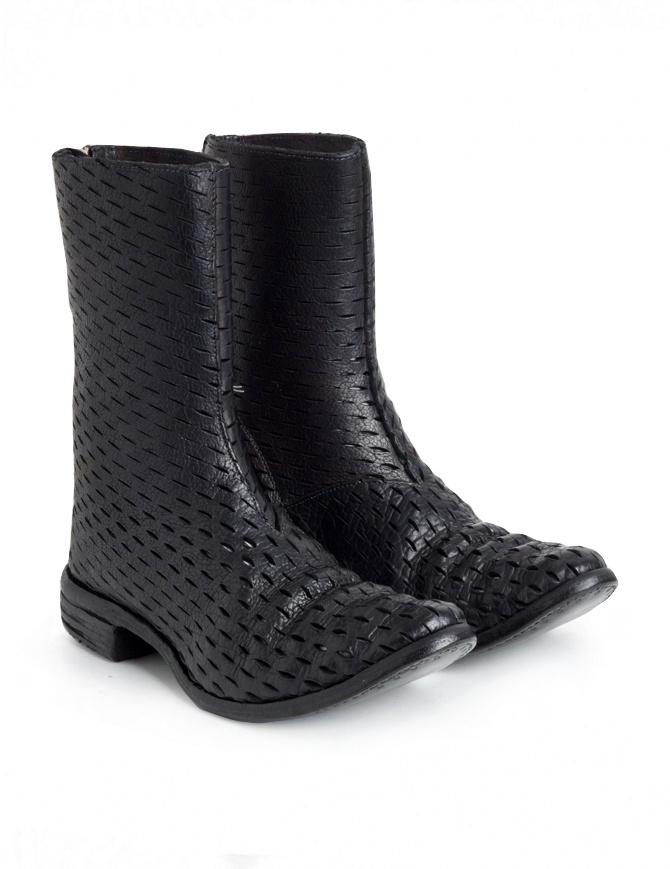 Stivale Carol Christian Poell AM/2601 in pelle di bisonte perforata AM/2601 BUUS-PTC/010 calzature uomo online shopping