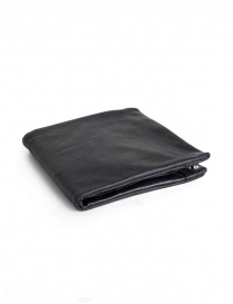 Guidi B7 black kangaroo leather wallet online