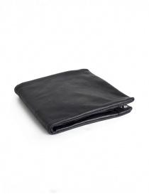 Portafogli online: Portafoglio Guidi B7 nero in pelle di canguro