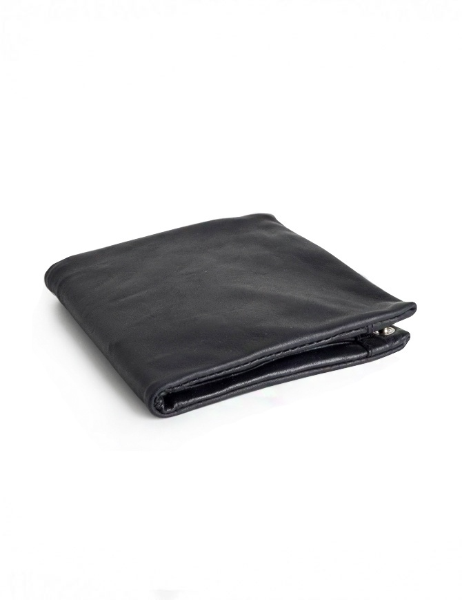 Guidi B7 black kangaroo leather wallet B7 KANGAROO FG CV39T wallets online shopping