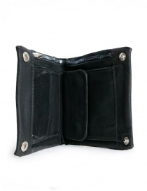 Guidi B7 black kangaroo leather wallet buy online