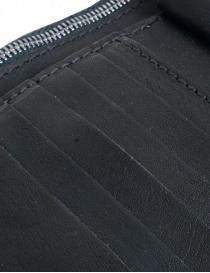 Portafoglio Guidi B7 nero in pelle di canguro prezzo