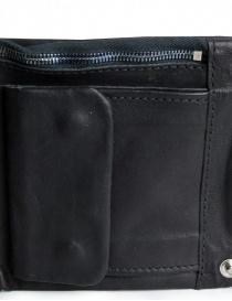 Portafoglio Guidi B7 nero in pelle di canguro portafogli acquista online