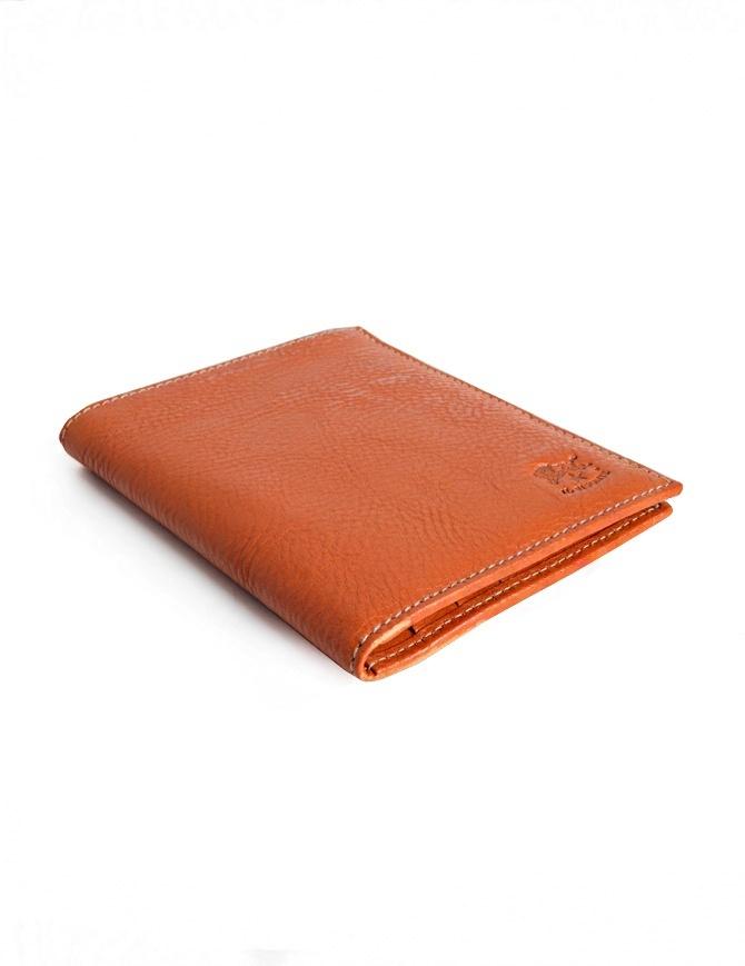 Il Bisonte wallet in orange cowhide C0591-P-145 wallets online shopping