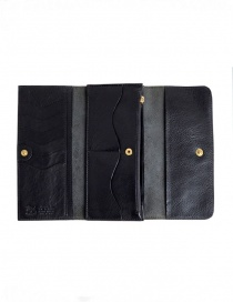 Il Bisonte Long Black Leather Wallet price