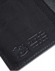 Il Bisonte Long Black Leather Wallet wallets price