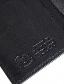 Il Bisonte portafoglio lungo nero in pelle portafogli prezzo