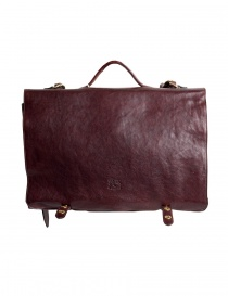 Il Bisonte brown leather briefcase D0214TRPO-567 order online