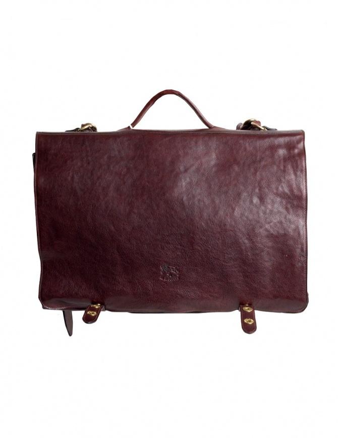 Cartella Il Bisonte marrone in pelle D0214TRPO-567 borse online shopping