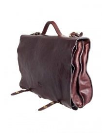 Il Bisonte brown leather briefcase