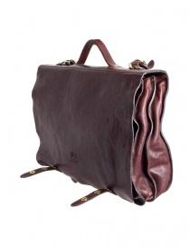 Il Bisonte brown leather briefcase buy online