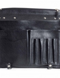 Cartella Il Bisonte in pelle di vacchetta nera borse acquista online