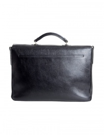 Il Bisonte black work briefcase price