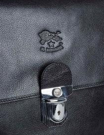 Cartella da lavoro Il Bisonte colore nero borse acquista online