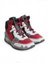 Leather Crown Aero red white sneakers buy online WAERO-HIG-AERO-H-DONNA