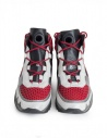Leather Crown Aero red white sneakers WAERO-HIG-AERO-H-DONNA buy online