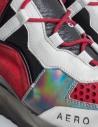 Leather Crown Aero red white sneakers price WAERO-HIG-AERO-H-DONNA shop online