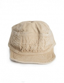 Hats and caps online: Kapital cap in beige denim